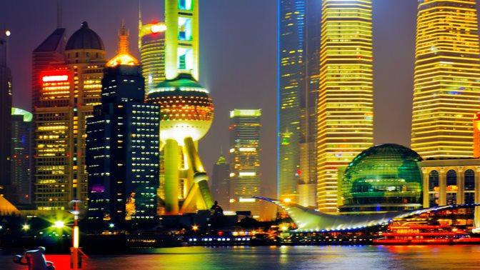 Skyline of Shanghai